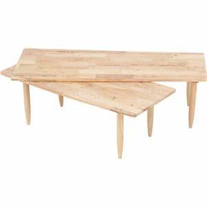 テーブル センターテーブル ツイン ナチュラルシグネーチャー37002 ナチュラル