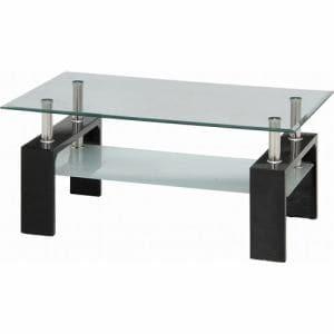 センターテーブル フォーカス88423 ブラック 1~2人用