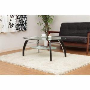 [幅110cm] テーブル センターテーブル ガラス おしゃれ ブラウン