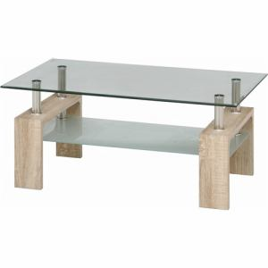 センターテーブル フォーカス センターテーブル96039 ホワイトオーク 1~2人用