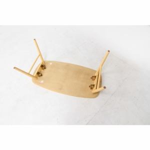 センターテーブル 折れ脚でコンパクト収納可 幅100cm 奥行50cm 高さ40cm ナチュラル  96351 ノルン