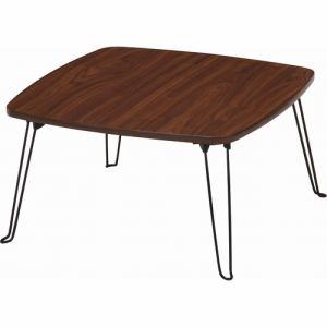 ローテーブル 角60 BR ブラウン