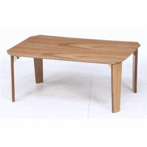 八角突板ローテーブル 9060 ナチュラル