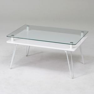 ディスプレイテーブル クラリス WH ホワイト