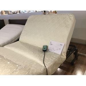 [シングル]アイリスオーヤマ 電動折りたたみコイルリクライニングベッド OTB-CDN ダークブラウン