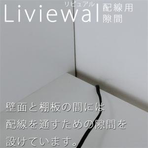 壁面収納 LVA2440DNA ナチュラル 幅400×奥行313×高さ2380mm