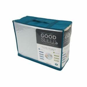 ベッドパット+マットレスカバー GSバイオ3点セット ペールブルー シングル