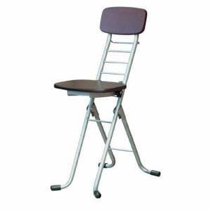 椅子 CSM-320TAD ダークブラウン/シルバー 1人用