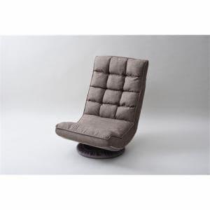 TVが見やすい回転座椅子 ITKZ-55 GRG グレージュ 1人用
