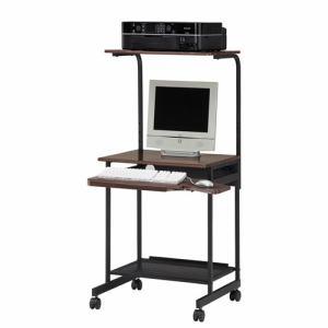 パソプリPCデスク PPR60HDK ダークブラウン 幅595×奥行580×高さ1113mm