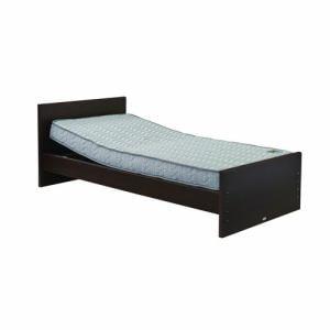 電動ベッド P201-5KFA-PM03 ダークブラウン シングル