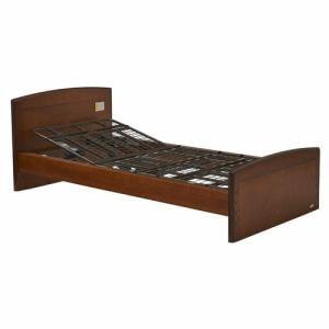 電動ベッド P201-1KBA ダークブラウン シングル