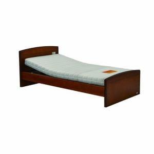 電動ベッド P201-1KBA-CS ダークブラウン シングル