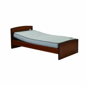 電動ベッド P201-1KBA-PM03 ダークブラウン シングル