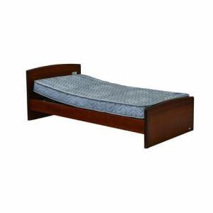 電動ベッド P201-1KBA-PM04 ダークブラウン シングル