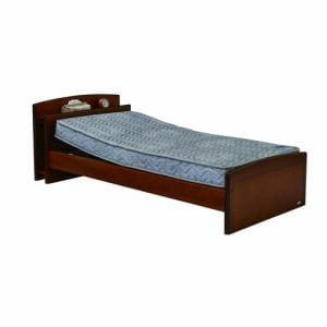 電動ベッド P201-1KBB-PM04 ダークブラウン シングル