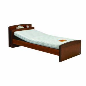 電動ベッド P201-5KBB-CS ダークブラウン シングル