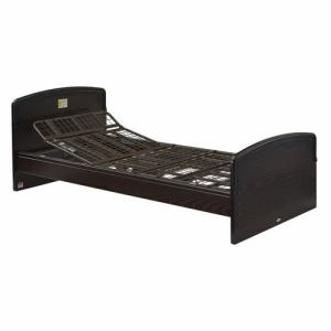 電動ベッド P201-1KEA ダークブラウン シングル