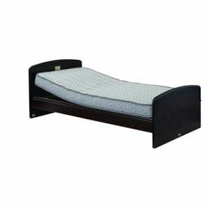 電動ベッド P201-5KEA-PM03 ダークブラウン シングル