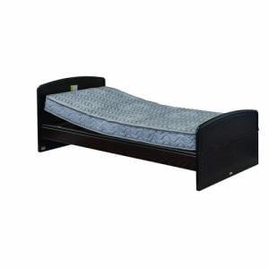 電動ベッド P201-5KEA-PM04 ダークブラウン シングル