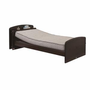 電動ベッド P201-1KEB-PM03 ダークブラウン シングル
