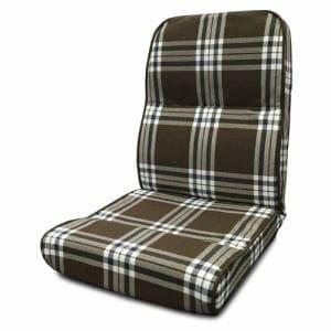 座椅子 NDT-スミス ダークブラウン 1人用