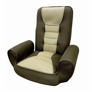 座椅子 KT-ドロップ ダークブラウン 1人用