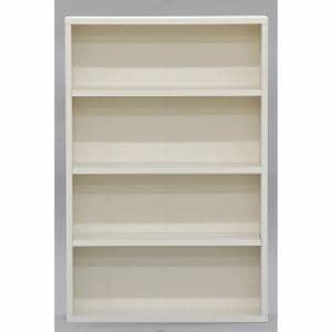 文庫ラック AB-6 WH ホワイト 幅60×奥行16.2×高さ90.8cm