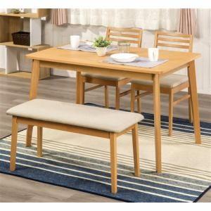 ダイニングテーブル 4人掛け 幅120x奥行78x 高さ72cm ナチュラル  YDT300001NA120 ヤマダオリジナル