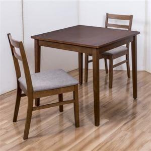 【処分特価ヤマダオリジナル】 [幅80]ダイニングテーブル ブラウン 2人用 ヤマダオリジナル YDT300005BR80