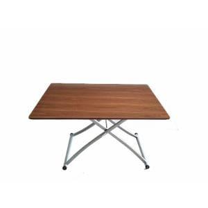 昇降テーブル YCT170005BR120 ブラウン