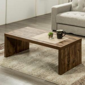 センターテーブル YCT170006DBR120 ダークブラウン