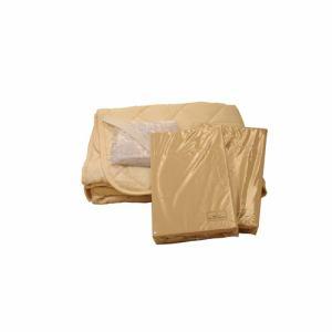 寝装品3点パック スリープせレクト 3PWSCSSLBLB ライトブラウン セミシングル
