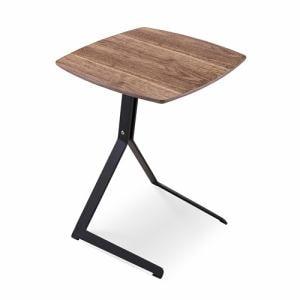サイドテーブル 幅23x奥行49x高さ143.5cm ミディアムブラウン YCTAD170020MBR44 ヤマダオリジナル