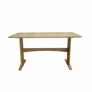 ダイニングテーブル 4人掛け以上 幅135x奥行80x高さ70cm ライトブラウン YDT300027LBR135 ヤマダオリジナル