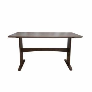 ダイニングテーブル 4人掛け以上 幅135x奥行80x高さ70cm ミディアムブラウン YDT300027MBR135 ヤマダオリジナル