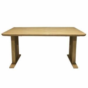 ダイニングテーブル 6人掛け 幅150x奥行80x高さ70cm ライトブラウン YDT300028LBR150 ヤマダオリジナル