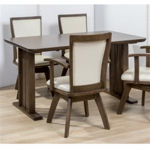 ダイニングテーブル 6人掛け 幅150x奥行80x高さ70cm ミディアムブラウン YDT300028MBR150 ヤマダオリジナル