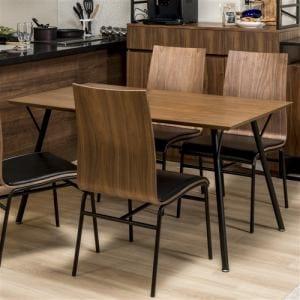 ダイニングテーブル 4人掛け 幅135x奥行80x高さ70cm ミディアムブラウン YDTAD300019MBR135 ヤマダオリジナル