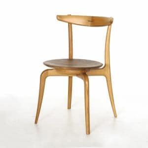 大塚家具 IDC OTSUKA 椅子(回転座面)OR-02板座WNオーク