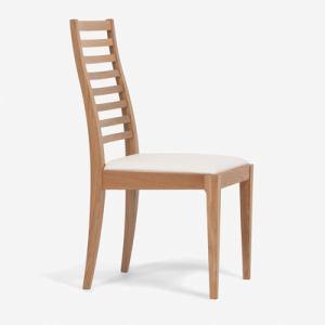 大塚家具 IDC OTSUKA 椅子N005#PVCIV/WOナラ