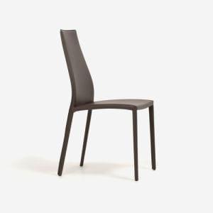 大塚家具 IDC OTSUKA 椅子CS/1484革マッドブラウン