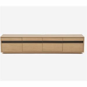 IDC大塚家具 テレビボード「ブレイク」幅200cm ホワイトオーク色