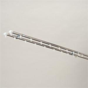 伸縮式カーテンレール ハンディ202 ステンレス ダブル1.6~3.0m
