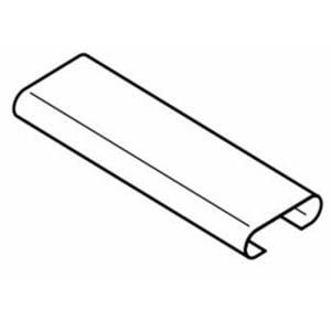 カーテンレール部品 定寸C型レール用ジョイント シルバー 1ケイリ