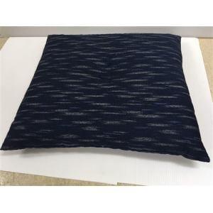シャンタン生地 座布団   ブルー 約55X59cm