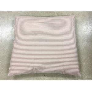 ミノワ産業  座布団カバー ストライプ 55X59cm ピンク