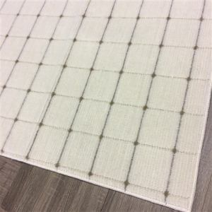 [幅176×奥行261cm] 国産平織カーペット ビスト3J アイボリー 約3畳