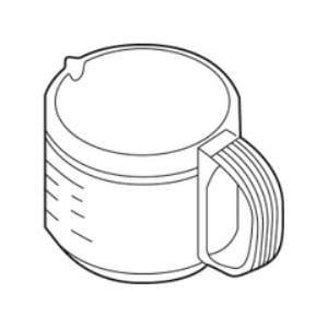 ZOJIRUSHI コーヒーメーカー用ガラス容器(ジャグ) JAGECAJ-XJ
