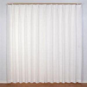 レースカーテン  巾100cm×丈198cm エコマッチレース2 ベージュ2枚入 遮熱・断熱効果あり 外から室内が見えにくい UVカット ウォッシャブル